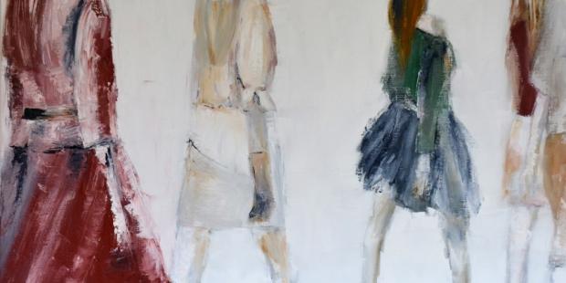 Hedendaagse schilderijen - olieverf op doek