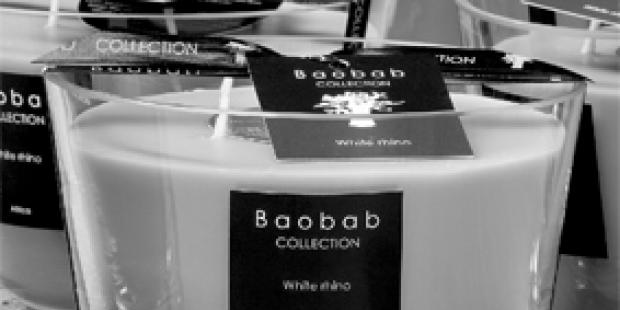 Baobab collection: Baobab kaarsen