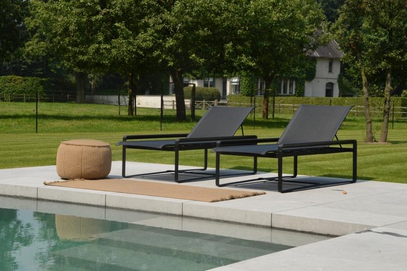 inrichting tuin moderne villa waregem spherebox On inrichting tuin