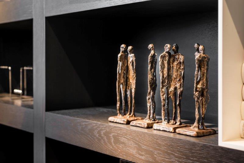 Tuinbeelden Brons Tuin : Bronzen beelden spherebox