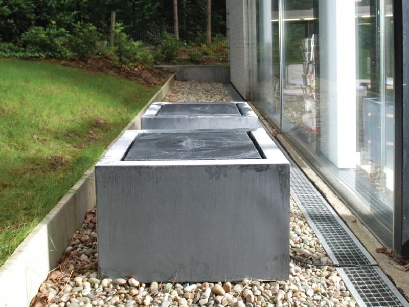 Domani spherebox - Hedendaagse fontein ...