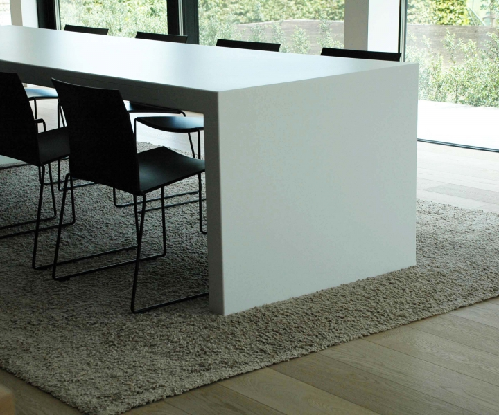 interieur moderne villa oeselgem spherebox. Black Bedroom Furniture Sets. Home Design Ideas